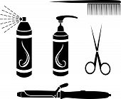 Hairdressing set