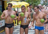 The boys of Ipenema Beach Rio Brazil November 5th 2006