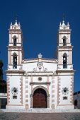 image of taxco  - Catholic church in Taxco - JPG