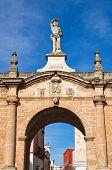 Porta St. Sebastiano. Galatone. Puglia. Italy.