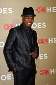 LOS ANGELES - DEC 2:  Ne-Yo arrives to the 2012 CNN Heroes Awards at Shrine Auditorium on December 2