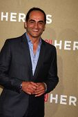 LOS ANGELES - DEC 2:  Navid Negahban arrives to the 2012 CNN Heroes Awards at Shrine Auditorium on D