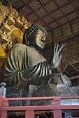 Buddha Vairocana (Daibutsu) At Todai-Ji, Nara, Japan