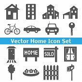 Home icons set