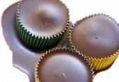 Chocolate  Filled Metal Tins