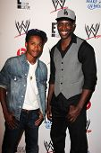 LOS ANGELES - AUG 15:  Octavius J. Johnson, Kwame Patterson at the Superstars for Hope honoring Make-A-Wish at the Beverly Hills Hotel on August 15, 2013 in Beverly Hills, CA