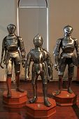 INNSBRUCK, AUSTRIA - AUGUST, 2012 : Chambers of Armour at Schloss Ambras (Ambras Castle) on August 1