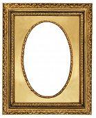 classy golden frame