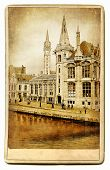 European landmarks series - vintage cards- Gent (Belgium)
