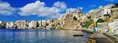 beautiful Greek islands series - Syros panorama