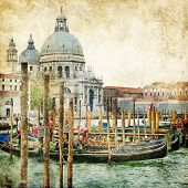 pictorial Venice - artwork in painting style