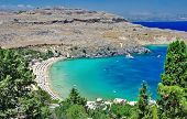 travel in Greek islands series - Rhodes, Lindos bay