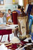 picture of tora  - Torah scrolls in sinagogue on jewish holiday - JPG