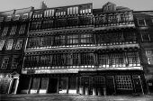 pic of tyne  - Ancient pub and Tudor style buildings in Newcastle upon Tyne - JPG