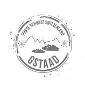 Stamp Gstaad