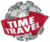 Time Travel Words Clock Sphere Future Prediction