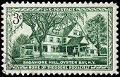 Sagamore Hill Stamp