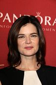 LOS ANGELES - FEB 10:  Betsy Brandt at the The Hollywood Reporter's Annual Nominees Night Party at S