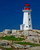 Lighthouse At Peggy's Cove