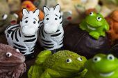 Zebra Statues For Garden Decorate