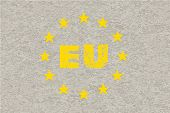 Concrete Eu Flag