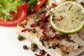 Fish And Salad