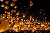 Festival at Chiangmai Thailand