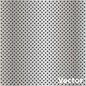 Vector eps concept conceptual gray metal stainless steel aluminum perforated pattern texture mesh sq