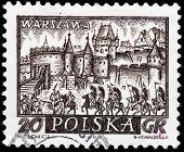 Warsaw Stamp