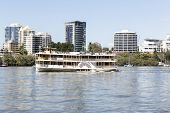 Kookaburra River Queen Paddlewheeler. TILT SHIFT