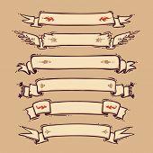 Retro Ribbons Set