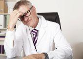 Physician Having Headache