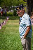 Memorial Day At The Va Cemetery