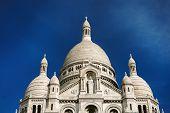 Basilique Du Sacre-coeur In Montmartre, Paris