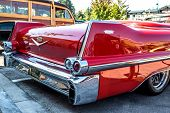 1957 Cadillac Rear View.