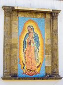 picture of guadalupe  - Religious shrine of the Madonna in Guadalajara - JPG