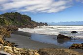 Punakaiki beach, West Coast, South Island, New Zealand