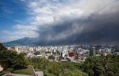 Mt Sakurajima volcano eruption brings ash to Kagoshima