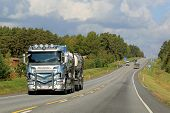Scania R560 Tank Truck On The Road