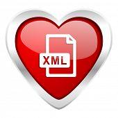 xml file valentine icon