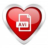 avi file valentine icon