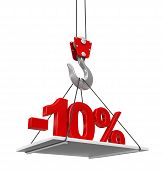 Percent On Crane Hook