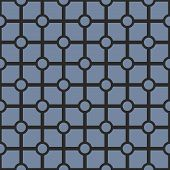 Tile vector black and navy blue geometric pattern