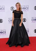 LOS ANGELES - JAN 07:  Brooke Anderson arrives to the People's Choice Awards 2014  on January 7, 2015 in Los Angeles, CA