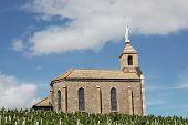 Chapel of the madona, Fleurie in Beaujolais