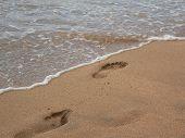 Huellas de la playa 2