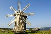Windmill, Kizhi Island, Russia