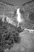 Takakkaw Falls In British Columbia. Canada