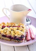 Mixed Berry And Fruit Cake
