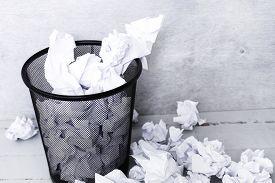 stock photo of recycle bin  - Recycle - JPG